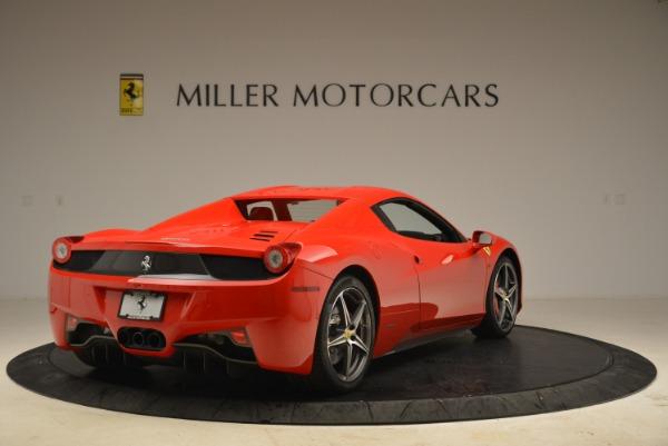 Used 2014 Ferrari 458 Spider for sale Sold at Bugatti of Greenwich in Greenwich CT 06830 19