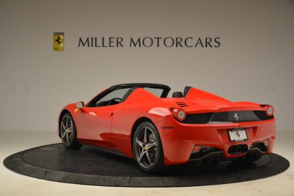 Used 2014 Ferrari 458 Spider for sale Sold at Bugatti of Greenwich in Greenwich CT 06830 5