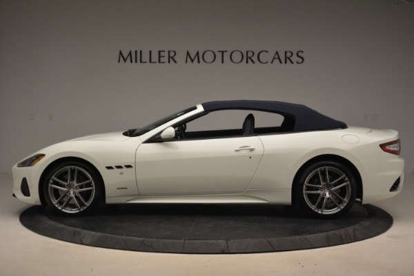 New 2018 Maserati GranTurismo Sport Convertible for sale Sold at Bugatti of Greenwich in Greenwich CT 06830 16