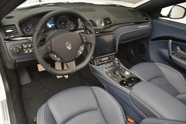 New 2018 Maserati GranTurismo Sport Convertible for sale Sold at Bugatti of Greenwich in Greenwich CT 06830 25