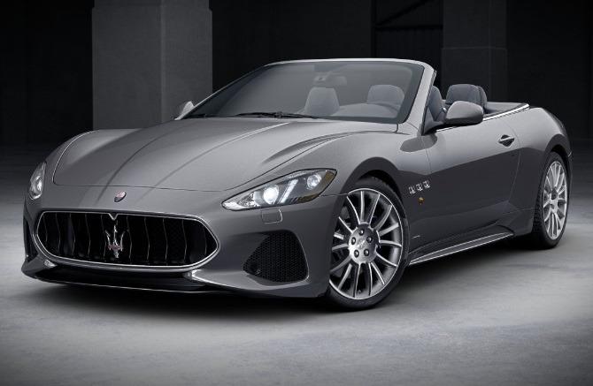 New 2018 Maserati GranTurismo Sport Convertible for sale Sold at Bugatti of Greenwich in Greenwich CT 06830 1