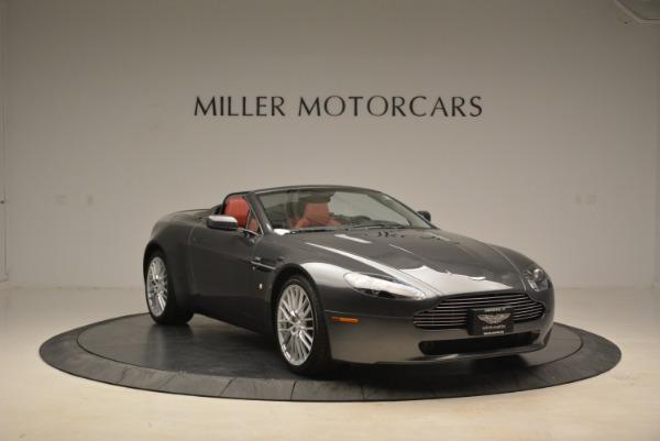 Used 2009 Aston Martin V8 Vantage Roadster for sale Sold at Bugatti of Greenwich in Greenwich CT 06830 11
