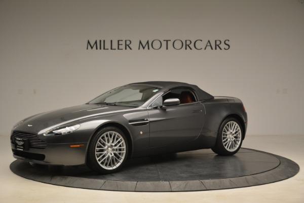 Used 2009 Aston Martin V8 Vantage Roadster for sale Sold at Bugatti of Greenwich in Greenwich CT 06830 14