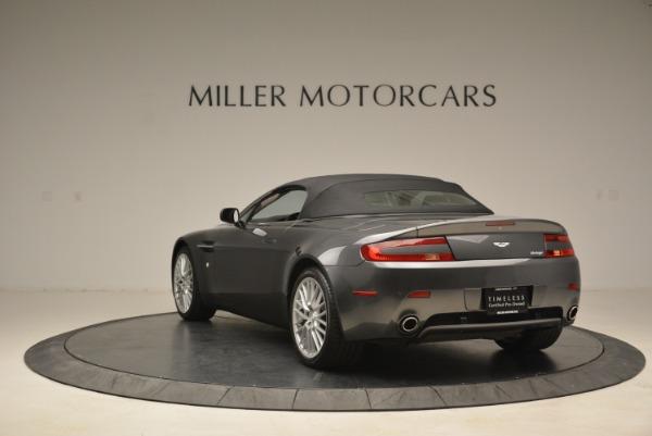 Used 2009 Aston Martin V8 Vantage Roadster for sale Sold at Bugatti of Greenwich in Greenwich CT 06830 17
