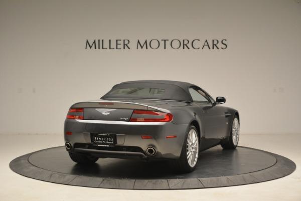 Used 2009 Aston Martin V8 Vantage Roadster for sale Sold at Bugatti of Greenwich in Greenwich CT 06830 19