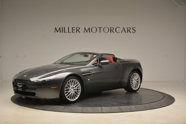 Used 2009 Aston Martin V8 Vantage Roadster for sale Sold at Bugatti of Greenwich in Greenwich CT 06830 2