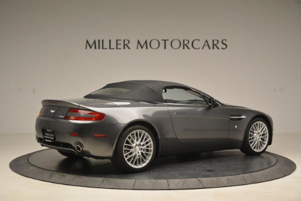 Used 2009 Aston Martin V8 Vantage Roadster for sale Sold at Bugatti of Greenwich in Greenwich CT 06830 20