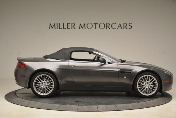 Used 2009 Aston Martin V8 Vantage Roadster for sale Sold at Bugatti of Greenwich in Greenwich CT 06830 21