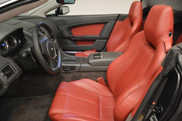 Used 2009 Aston Martin V8 Vantage Roadster for sale Sold at Bugatti of Greenwich in Greenwich CT 06830 25