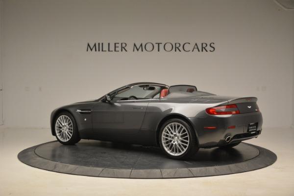 Used 2009 Aston Martin V8 Vantage Roadster for sale Sold at Bugatti of Greenwich in Greenwich CT 06830 4