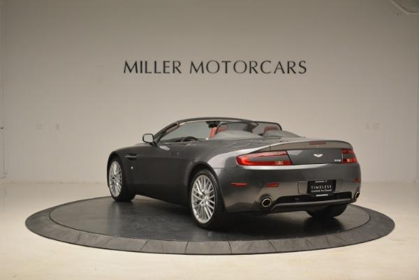 Used 2009 Aston Martin V8 Vantage Roadster for sale Sold at Bugatti of Greenwich in Greenwich CT 06830 5