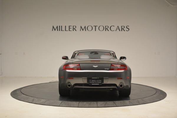 Used 2009 Aston Martin V8 Vantage Roadster for sale Sold at Bugatti of Greenwich in Greenwich CT 06830 6