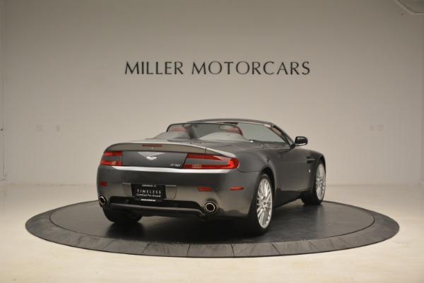 Used 2009 Aston Martin V8 Vantage Roadster for sale Sold at Bugatti of Greenwich in Greenwich CT 06830 7