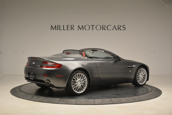 Used 2009 Aston Martin V8 Vantage Roadster for sale Sold at Bugatti of Greenwich in Greenwich CT 06830 8