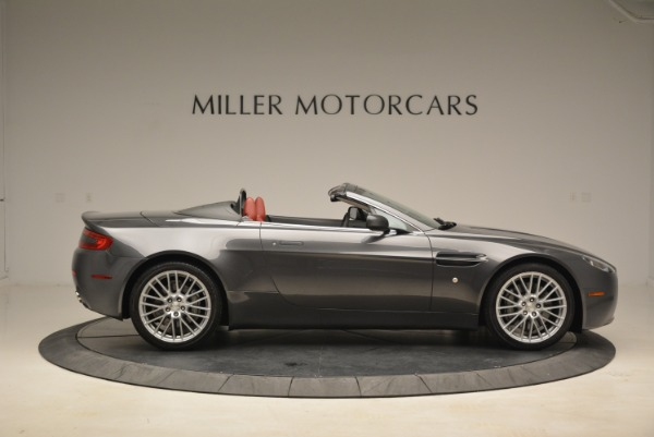 Used 2009 Aston Martin V8 Vantage Roadster for sale Sold at Bugatti of Greenwich in Greenwich CT 06830 9