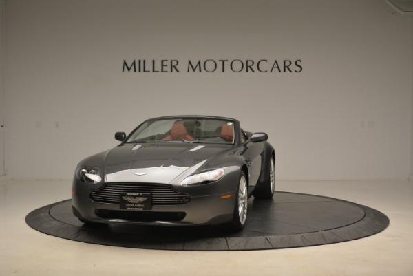 Used 2009 Aston Martin V8 Vantage Roadster for sale Sold at Bugatti of Greenwich in Greenwich CT 06830 1