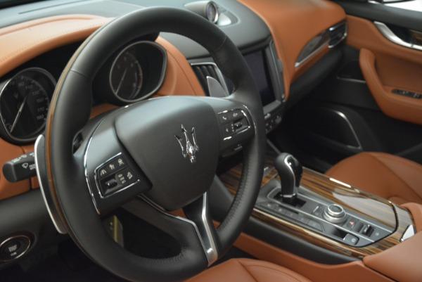 New 2018 Maserati Levante S Q4 GranLusso for sale Sold at Bugatti of Greenwich in Greenwich CT 06830 15