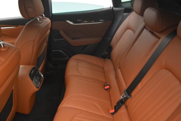 New 2018 Maserati Levante S Q4 GranLusso for sale Sold at Bugatti of Greenwich in Greenwich CT 06830 18