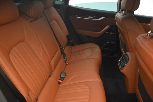 New 2018 Maserati Levante S Q4 GranLusso for sale Sold at Bugatti of Greenwich in Greenwich CT 06830 24