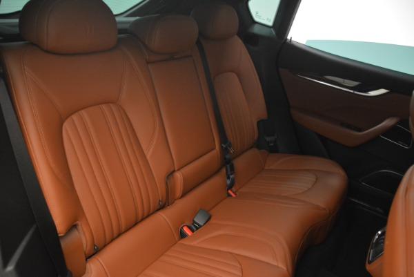 New 2018 Maserati Levante S Q4 GranLusso for sale Sold at Bugatti of Greenwich in Greenwich CT 06830 25