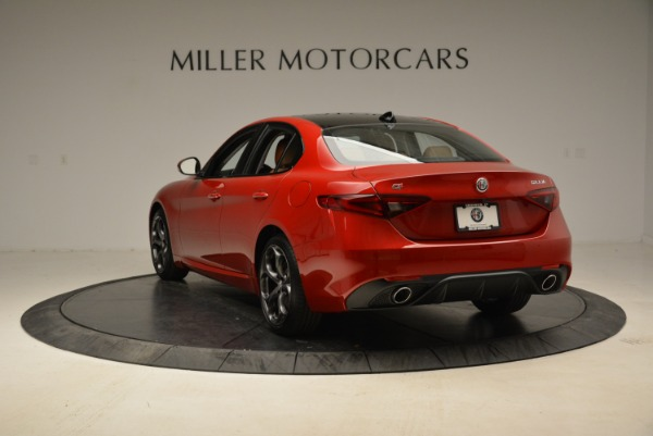 New 2018 Alfa Romeo Giulia Ti Sport Q4 for sale Sold at Bugatti of Greenwich in Greenwich CT 06830 5
