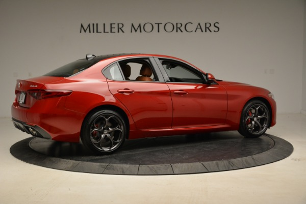 New 2018 Alfa Romeo Giulia Ti Sport Q4 for sale Sold at Bugatti of Greenwich in Greenwich CT 06830 8