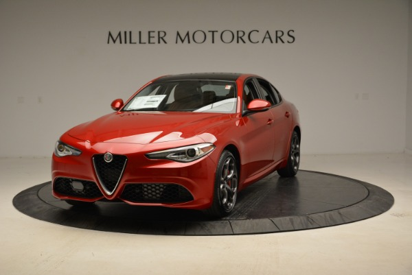 New 2018 Alfa Romeo Giulia Ti Sport Q4 for sale Sold at Bugatti of Greenwich in Greenwich CT 06830 1