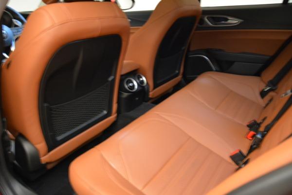 New 2018 Alfa Romeo Giulia Ti Sport Q4 for sale Sold at Bugatti of Greenwich in Greenwich CT 06830 18