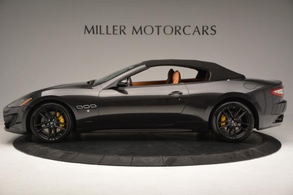 Used 2015 Maserati GranTurismo Sport Convertible for sale Sold at Bugatti of Greenwich in Greenwich CT 06830 16