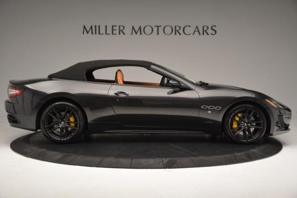 Used 2015 Maserati GranTurismo Sport Convertible for sale Sold at Bugatti of Greenwich in Greenwich CT 06830 17