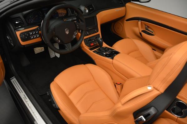 Used 2015 Maserati GranTurismo Sport Convertible for sale Sold at Bugatti of Greenwich in Greenwich CT 06830 19