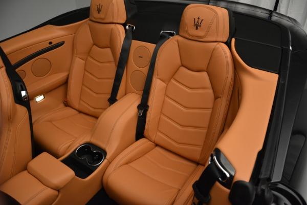 Used 2015 Maserati GranTurismo Sport Convertible for sale Sold at Bugatti of Greenwich in Greenwich CT 06830 22