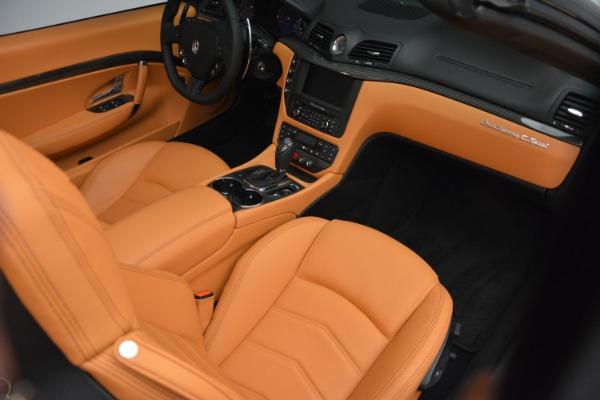 Used 2015 Maserati GranTurismo Sport Convertible for sale Sold at Bugatti of Greenwich in Greenwich CT 06830 23
