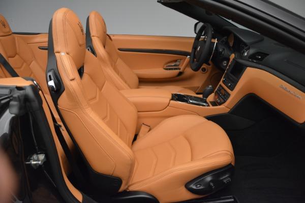 Used 2015 Maserati GranTurismo Sport Convertible for sale Sold at Bugatti of Greenwich in Greenwich CT 06830 24