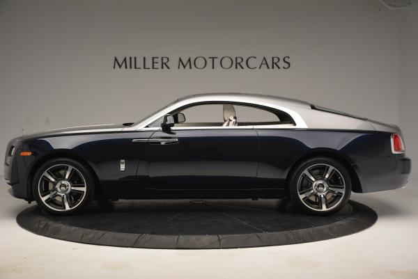 New 2016 Rolls-Royce Wraith for sale Sold at Bugatti of Greenwich in Greenwich CT 06830 3