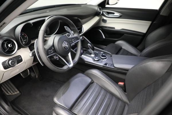 Used 2018 Alfa Romeo Giulia Ti Sport Q4 for sale $34,900 at Bugatti of Greenwich in Greenwich CT 06830 12