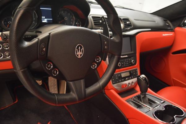 Used 2014 Maserati GranTurismo Sport for sale Sold at Bugatti of Greenwich in Greenwich CT 06830 15