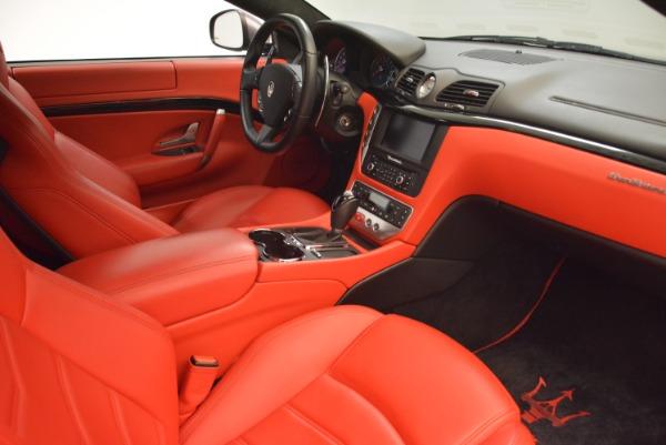 Used 2014 Maserati GranTurismo Sport for sale Sold at Bugatti of Greenwich in Greenwich CT 06830 17