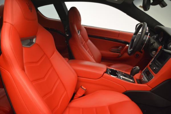 Used 2014 Maserati GranTurismo Sport for sale Sold at Bugatti of Greenwich in Greenwich CT 06830 18
