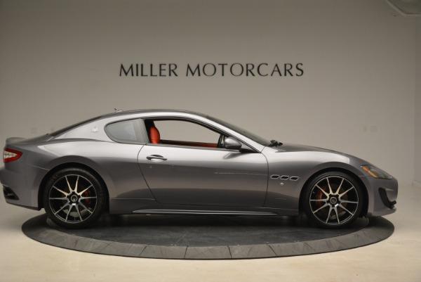 Used 2014 Maserati GranTurismo Sport for sale Sold at Bugatti of Greenwich in Greenwich CT 06830 7