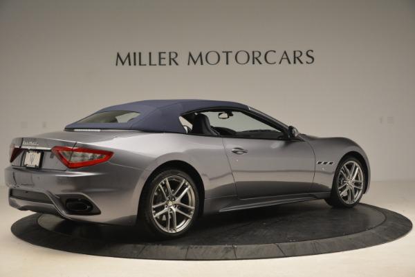 New 2018 Maserati GranTurismo Sport Convertible for sale Sold at Bugatti of Greenwich in Greenwich CT 06830 8
