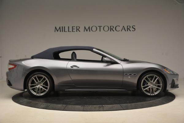 New 2018 Maserati GranTurismo Sport Convertible for sale Sold at Bugatti of Greenwich in Greenwich CT 06830 9