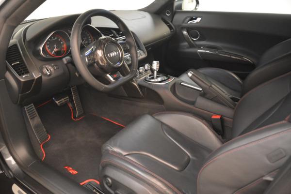 Used 2014 Audi R8 5.2 quattro for sale Sold at Bugatti of Greenwich in Greenwich CT 06830 14