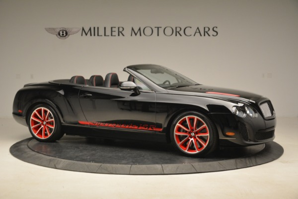 Used 2013 Bentley Continental GT Supersports Convertible ISR for sale Sold at Bugatti of Greenwich in Greenwich CT 06830 10