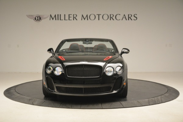 Used 2013 Bentley Continental GT Supersports Convertible ISR for sale Sold at Bugatti of Greenwich in Greenwich CT 06830 12