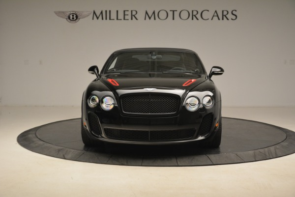 Used 2013 Bentley Continental GT Supersports Convertible ISR for sale Sold at Bugatti of Greenwich in Greenwich CT 06830 13