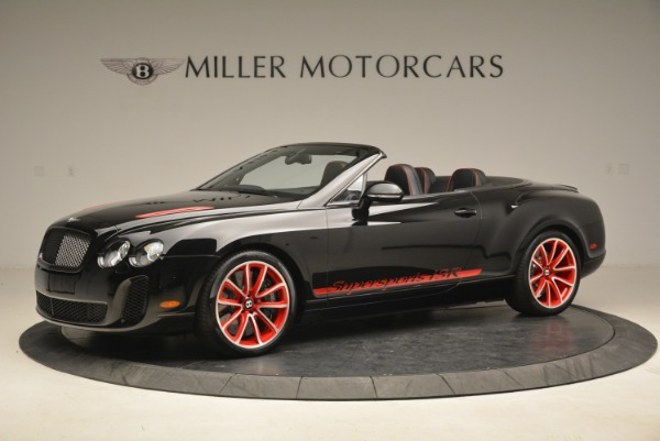 Used 2013 Bentley Continental GT Supersports Convertible ISR for sale Sold at Bugatti of Greenwich in Greenwich CT 06830 2