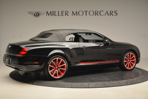 Used 2013 Bentley Continental GT Supersports Convertible ISR for sale Sold at Bugatti of Greenwich in Greenwich CT 06830 21