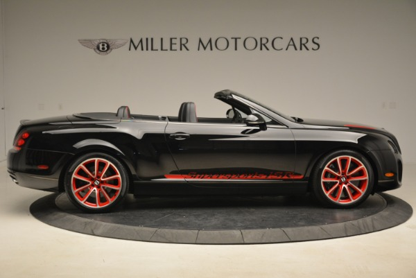 Used 2013 Bentley Continental GT Supersports Convertible ISR for sale Sold at Bugatti of Greenwich in Greenwich CT 06830 9