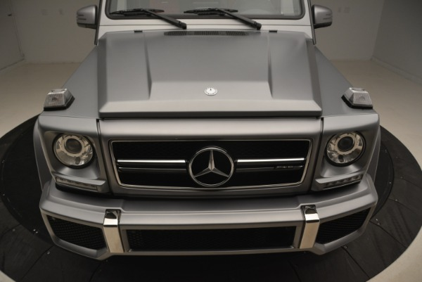 Used 2017 Mercedes-Benz G-Class AMG G 63 for sale Sold at Bugatti of Greenwich in Greenwich CT 06830 13